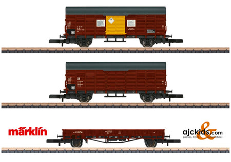 Marklin 82268 - DR Freight Car Set