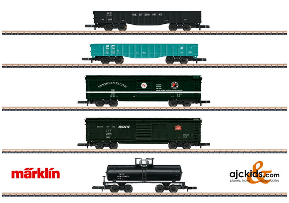 Marklin 82498 - American Freight Car Set