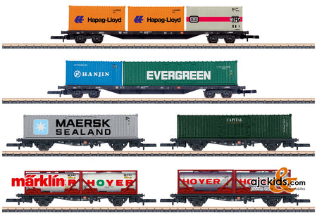 Marklin 82665 - Container Transport Car Set