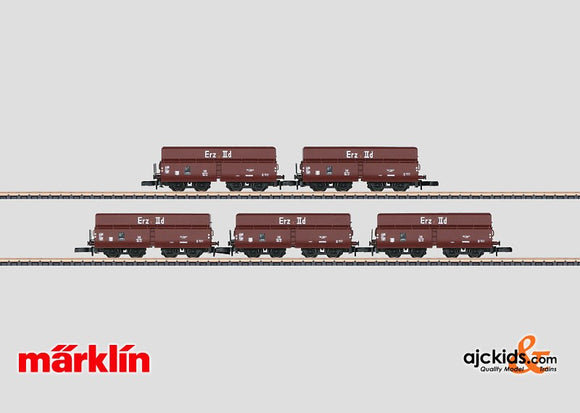 Marklin 82800 - Ore Transport Freight Car Set