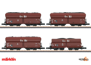 Marklin 86307 - Coal Traffic Freight Car Set