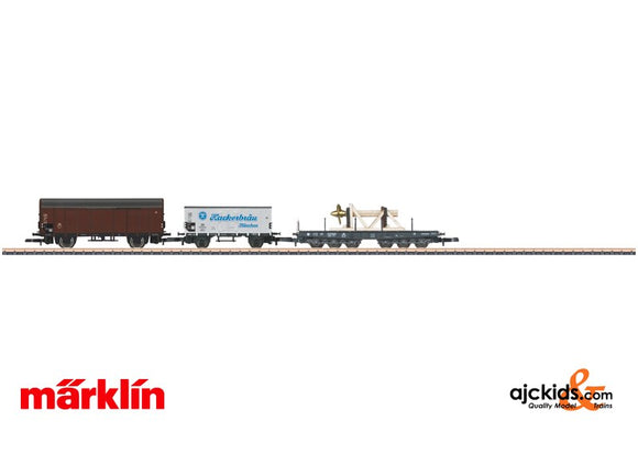Marklin 86582 - Freight Car Set. Consisting of 3 Different Cars