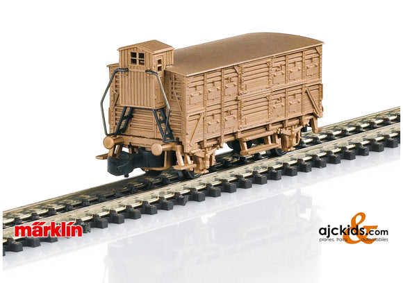 Marklin 86606 - Type VH 14 Boxcar in Real Bronze