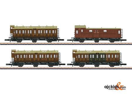 Marklin 87041 - KPEV Passenger Car Set Consisting of 4 Cars