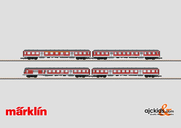 Marklin 87170 - DB Regio, Inc. Commuter Car Set