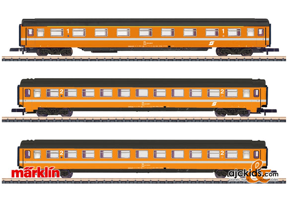 Marklin 87343 - ÖBB Passenger Car Set