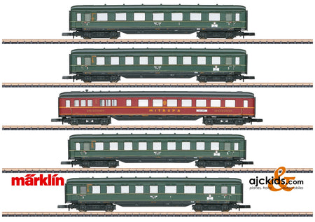 Marklin 87352 - Express Train Skirted Passenger Car Set