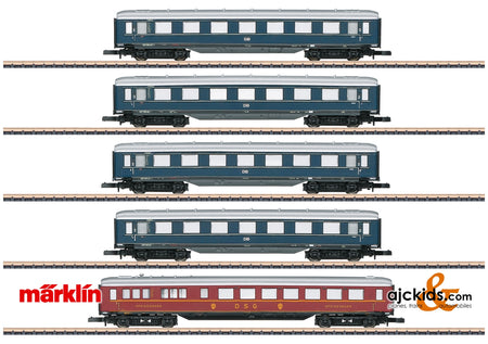 Marklin 87357 - Express Train Skirted Car Set