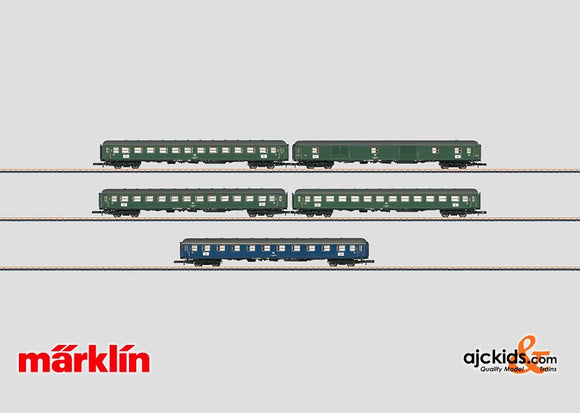 Marklin 87400 - Express Train Passenger Car Set