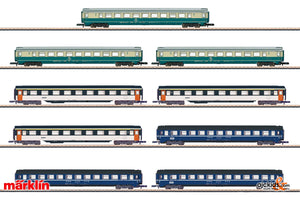 Marklin 87408 - Passenger Cars Car Display set (9)