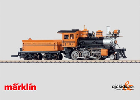 Marklin 88035 - Steam locomotive with tender.