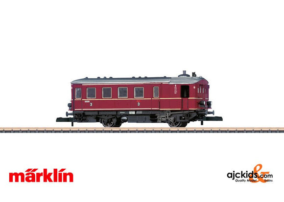 Marklin 88145 - DB Kittel DT8 Steam Pwd Rail Car Era III