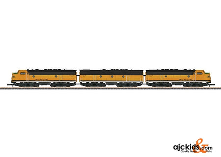 Marklin 88198 - Denver & Rio Grande Western EMD F7 A-B-A Diesel Electric Locomotive