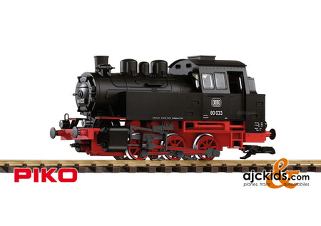 Piko 37202 - DB III BR80 Steam Loco, Black/Red