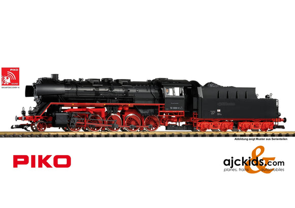 Piko 37241 - DR IV BR 50 Reko Steam Loco, Sound