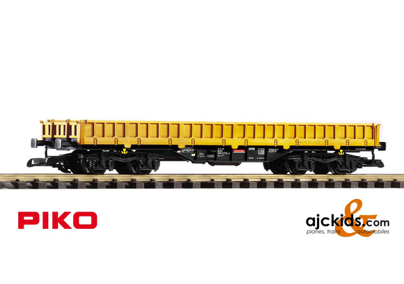 Piko 37762 - DB VI Bahnbaugruppe Low-Side Gon Res-x, Yellow