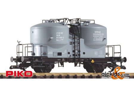 Piko 37795 - DR IV Cement Silo Car, Black Chassis