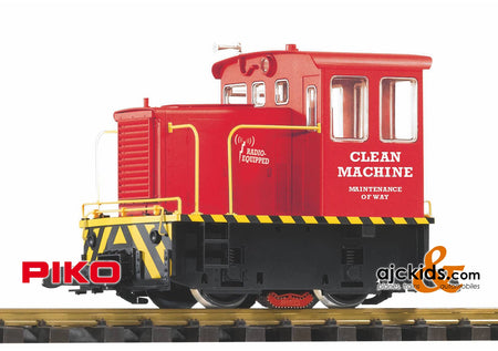 Piko 38506 - Clean Machine  R/C GE 25-TON Track Cleaning Locomotive