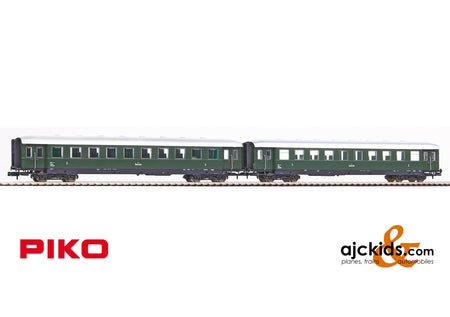 Piko 40622 - 2-Car Set Skirted Passenger Cars ÖBB III