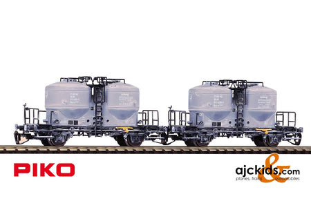 Piko 47030 - TT 2-Unit Set Cement Cars DR IV Weathered