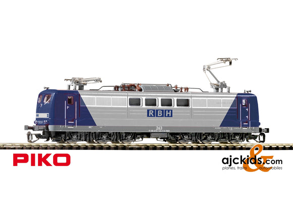Piko 47205 - Series BR 151 Electric Locomotive RBH VI Blue/Silver