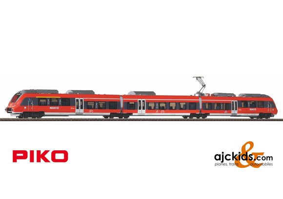 Piko 47245 - Series BR 442 3-Unit Electric Railcar DB VI