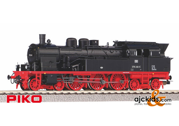 Piko 50610 - Steam Locomotive /Sound BR 078 DB IV + PluX22 Decoder