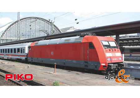 Piko 51102 - Electric Locomotive/Sound BR 101 DB AG VI + PluX22 Decoder