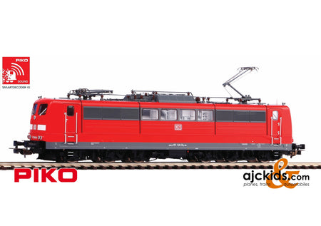 Piko 51308 - BR 151 Electric Locomotive DB VI Red Sound