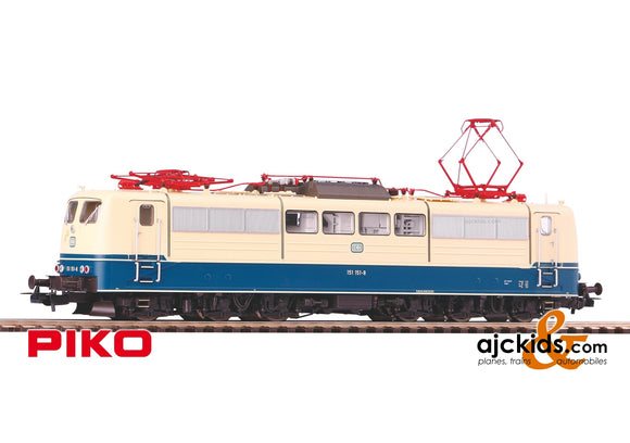 Piko 51313 - BR 151 Electric Locomotive DB IV Sound (AC 3-Rail)