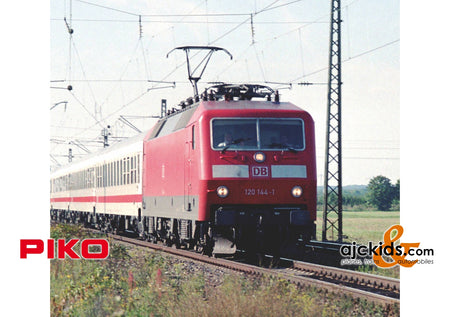 Piko 51327 - BR 120 Electric Locomotive DB V Red Sound (AC 3-Rail)