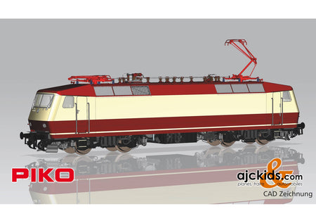 Piko 51332 - Electric Locomotive/Sound BR 120 DB Vorserie IV + PluX22 Decoder
