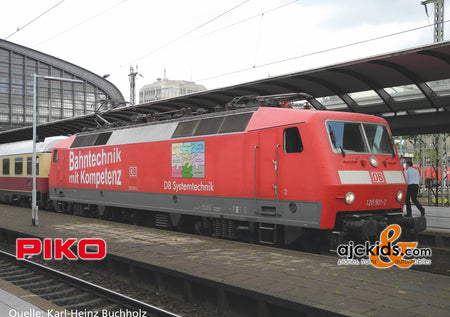 Piko 51335 - Electric Locomotive/Sound BR 120 DB Bahnkompetenz VI + PluX22 Decoder