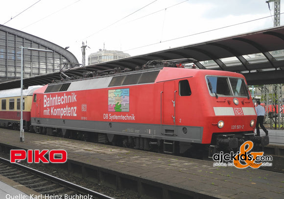 Piko 51336 - Electric Locomotive/Sound BR 120 DB Bahnkompetenz VI + PluX22 Decoder