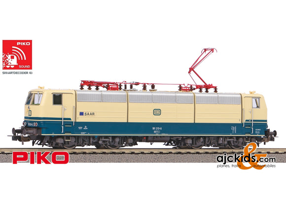 Piko 51347 - BR 181.2 Electric Locomotive DB Saar IV Sound (AC 3-Rail)