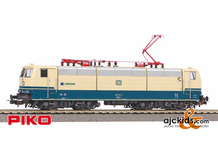 Piko 51353 - Electric Locomotive/Sound BR 181.2 DB Lorraine IV + PluX22 Decoder