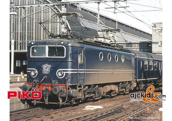 Piko 51367 - Rh 1100 Electric Locomotive NS III Blue Sound (AC 3-Rail)