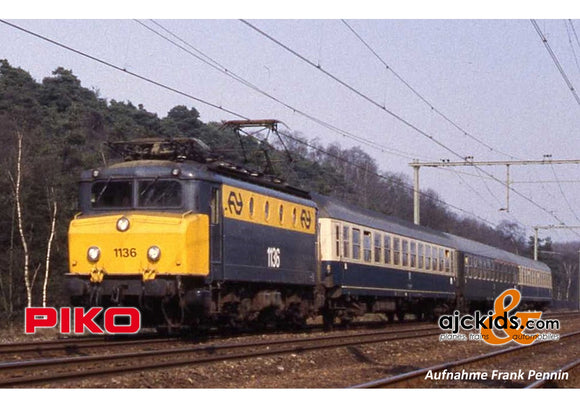 Piko 51371 - Rh 1100 Electric Locomotive NS IV Yellow/Grey Sound (AC 3-Rail)