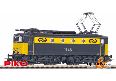 Piko 51379 - Electric Locomotive/Sound Rh 1100 grau gelb NS IV + PluX22 Decoder