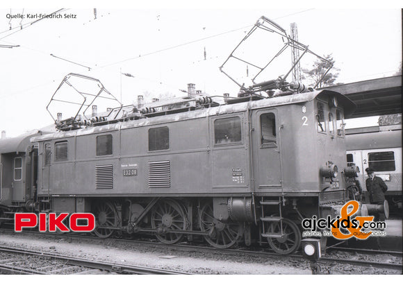Piko 51410 - Electric Locomotive BR E 32 DB III + DSS PluX22