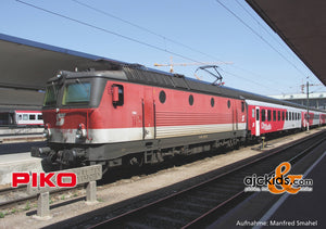 Piko 51624 - Electric Locomotive Rh 1144 ÖBB VI + DSS PluX22