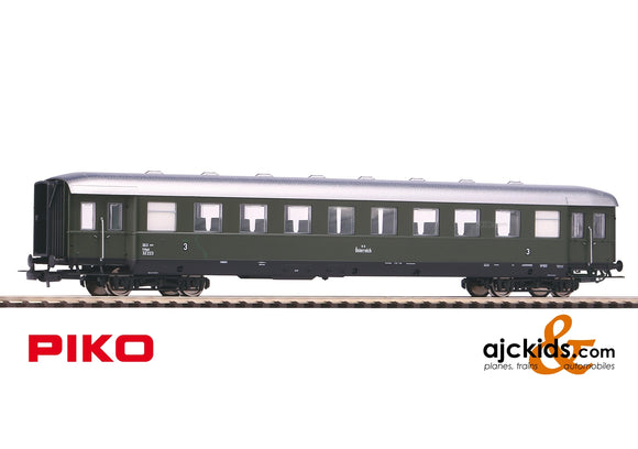 Piko 53280 - C4ipu 3rd class Skirted Passenger Car BBÖ Ep. III