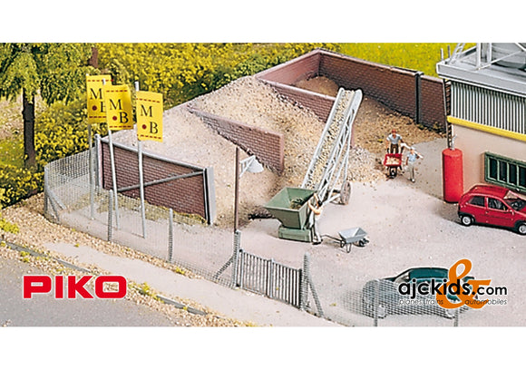 Piko 61132 - Concrete Plant Sand Bunkers