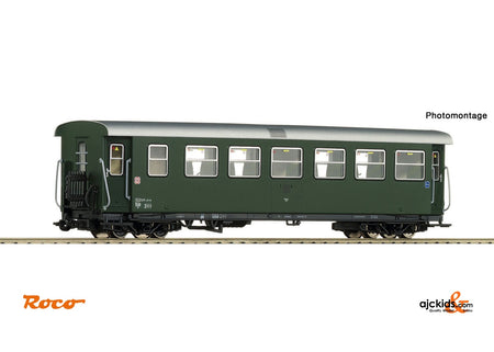 Roco 34031 2nd class passenger car with luggage compartment ÖBB