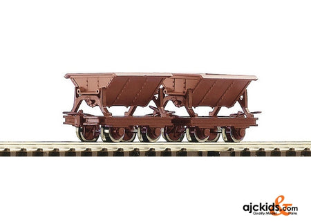 Roco 34498 2 piece set side tipping wagons