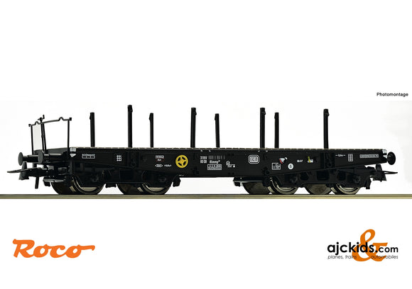 Roco 46380 - Heavy duty flat wagon