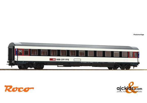 Roco 54167 - 2nd class Eurocity compartment coach