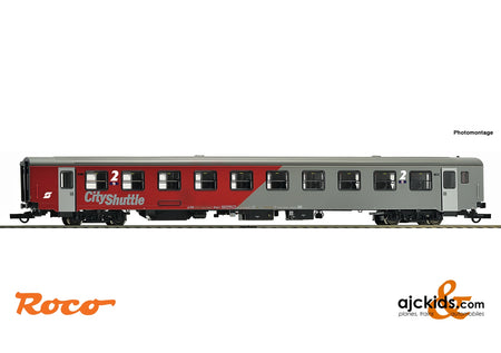 "Roco 64708 - 2nd class commuter coach ""City-Shuttle"""