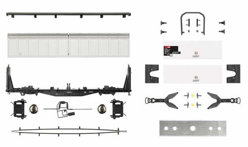 Roco 66444 Sliding Wall Car Building Kit