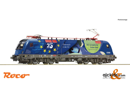 "Roco 70501 - Electric locomotive 1116 276-7 ""25 years of Austria in the EU"""